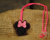 Girl Mouse - Hearing Aid Cord or Cochlear Implant Cord