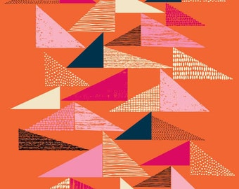 Tapestry Triangles, open edition giclee print
