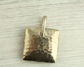 Silpada Hammered Sterling Silver Pendant Unique Design (ET487 )