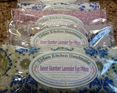 Lavender & Flaxseed Eye Pillow / Sweet Slumber Lavender Eye Pillow/ Relaxation Gift