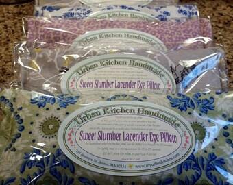 Lavender & Flax Seed Eye Pillow, Sweet Slumber Lavender Eye Pillow,  Relaxation Gift, Lavender, gift
