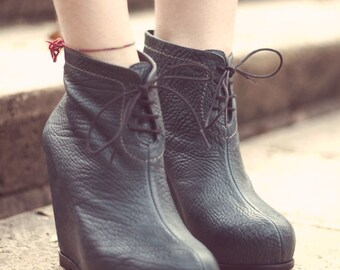 ZOEY - Handmade Platform Women Shoes with Winter Sale Price