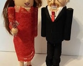 Click Here to Order A Hand Made Bride and Groom Nutcracker Set