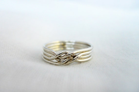 Puzzle Ring 925 Sterling Silver