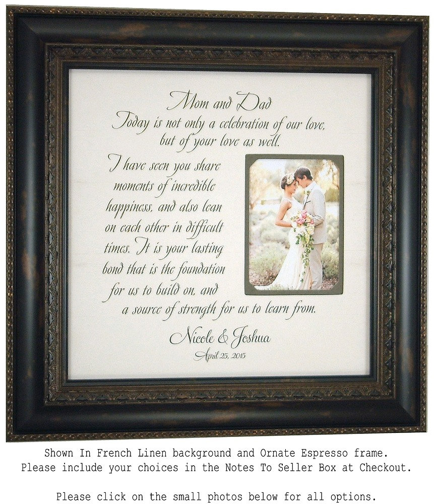 personalized picture frame wedding sign by photoframeoriginals