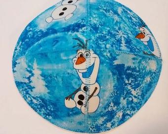 Olaf Saucer Kippah Yarmulke Frozen