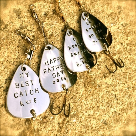 Items similar to personalized fishing lure wedding gifts for Unique fishing gifts