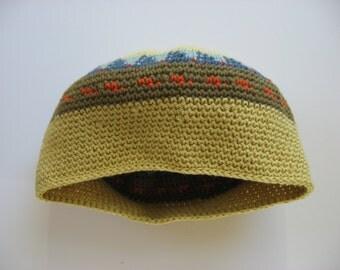 cotton beret cap slouchy hat