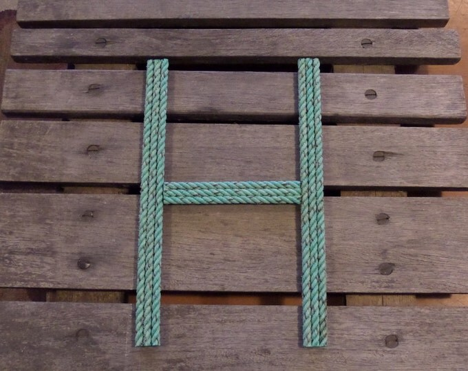 12 Inch Rope Letter or Number MADE TO ORDER Nautical Nursery Western Beach Cowboy Rustic Coastal Themes Wedding