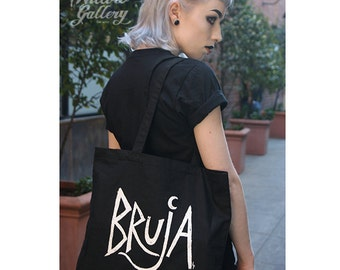 BRUJA Tote Bag by Lupe Flores