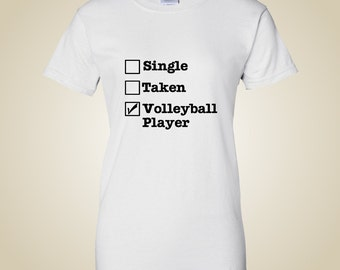 Volleyball t shirt VolleyChick Single...CHECK