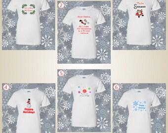 Volleyball Christmas Design Holidays Shirt