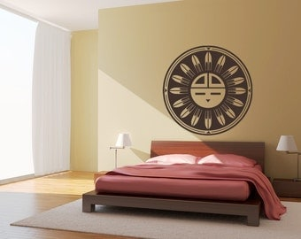 Southwestern Decal Vinyl Wall Decal Sticker Graphic Native wall decal