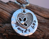 Pet ID Tag / Dog Tag / Dog ID Tag / Personalized Dog Tag / Pet Charm / Mama's boy