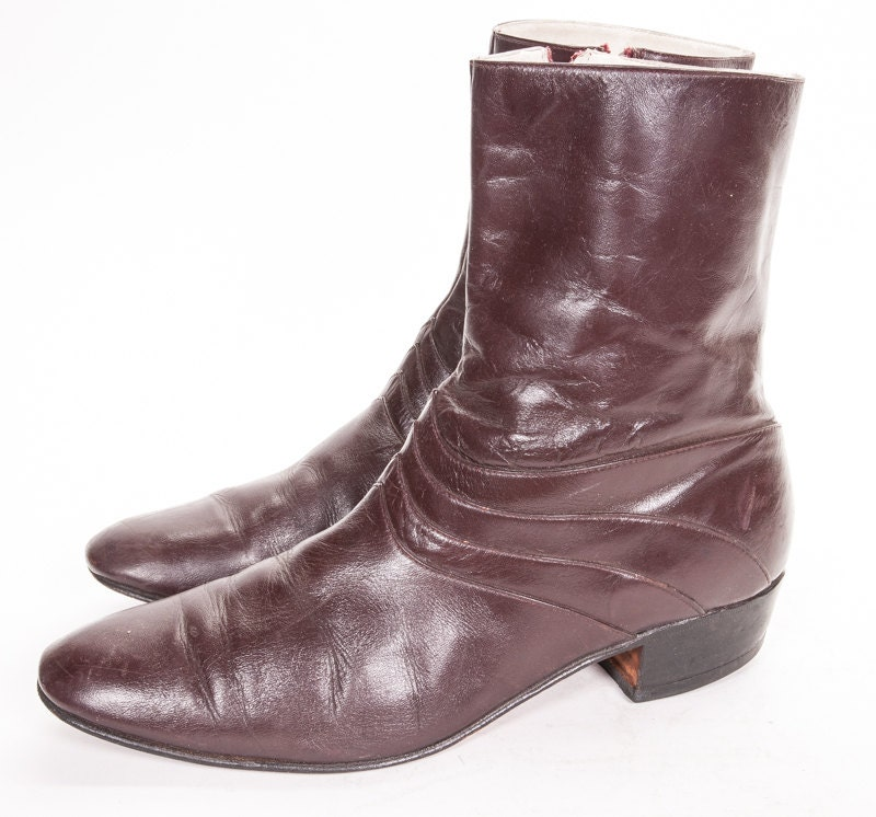 beatle boot s size 11 by metropolisnycvintage on etsy