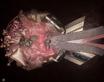 Custom baby shower  /birthday  hand  corsage sweet 15 , graduation