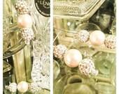 Swarovski & Glass Pearl earrings