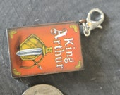 "Book ""King Arthur"" Charm"