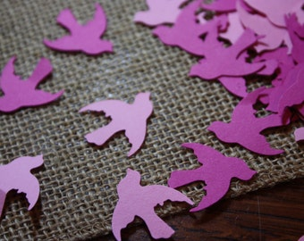 200 Pink Dove Confetti-Christening Decoration-Baptism
