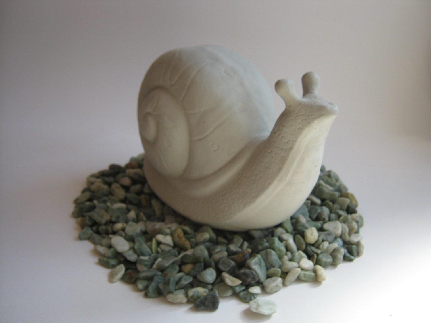 snail concrete statue for garden decor yard art cast in