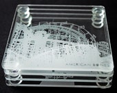 Laser engraved Coast 2 Coast Coaster Coasters