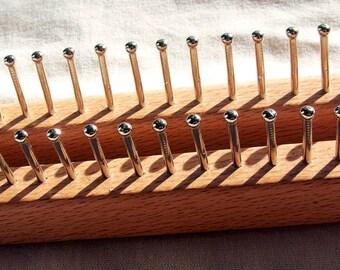Knitting Loom fine gauage knitting board Knitting Board, Sock Loom. Peg loom. DSH