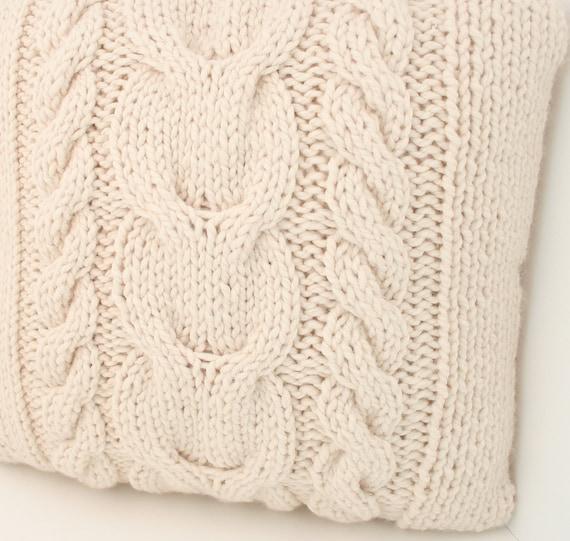 PDF DIGITAL PATTERN:Knit Pillow Cover Pattern,Throw Pillow Cover,Decorative Pillow Cover,Throw ...