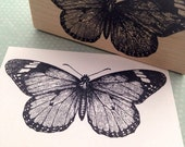 Monarch Butterfly Rubber Stamp 1112 T