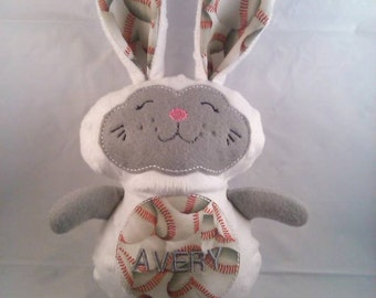 Personalized Sports Themed Bunny