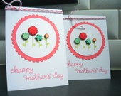 Handmade Floral Mother's Day Card, Mothering Sunday Greeting Card