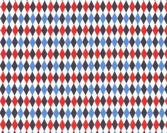 Mini Harlequin - Michael Miller Fabric -  blue