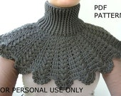 CROCHET PATTERN - Crochet Cowl Pattern / PDF  Pattern