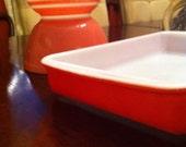 Pink pyrex stripe bowl only