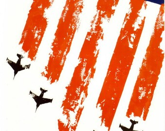 Soviet anti-American posters. Imperialism is aggression! Moscow 1966. Soviet poster, soviet propaganda, 1952