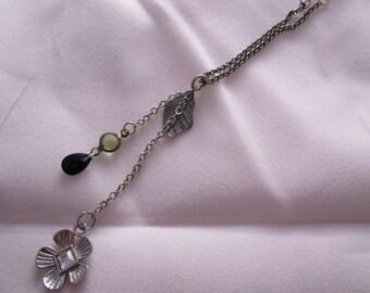 Silver Bloom Necklace