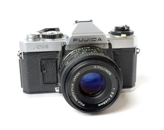 Very Nice Vintage Fujica AX-1 Model 35MM camera- Check out all of our cameras
