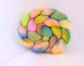 Hand dyed BFL combed top / roving 4 ounces