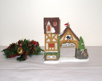 Dept. 56 Dickens Village Postern / 10 Year Anniversary / Hand Painted Porcelain / Like New, No Box