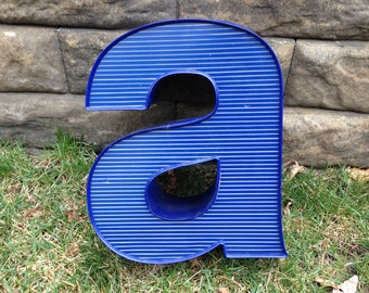 A - Reclaimed vintage letter - 13 inch - SALE