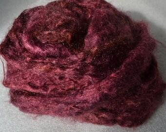 handdyed firestar, trilobal nylon sparkle fibre