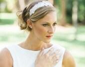 Wedding headpiece, Bridal headpiece, Wedding headband, tiara, Bridal headband, beaded headband - BRITTANY