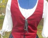 Bodice.  custom  made to your size.  Renaissance. Colonial. Civil war. Pioneer.