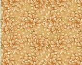 Camel Flower Fabric for MDG Fabrics/Floral Cotton Quilt Craft Apparel/Fabric by the Yard/Fabric by the Half Yard/Fat Quarter/PRICES Vary