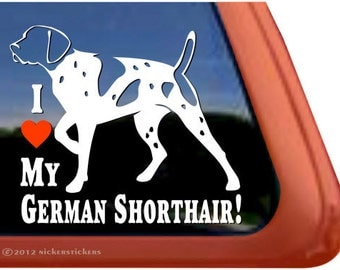 German Shorthaired Pointer Decal Etsy