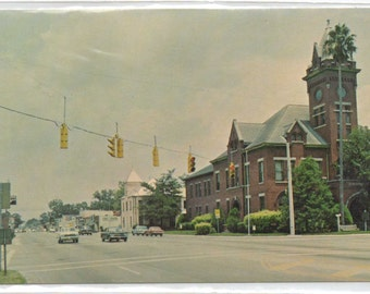 "Florida, Vintage Postcard, ""Bradford County's Historic Courthouse,""  1970s,  #582"