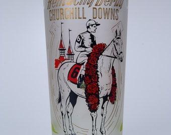 1962 Vintage Kentucky Derby Mint Julep Glass