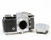 Vintage Exakta Varex IIa Film SLR Camera Body & Viewfinder