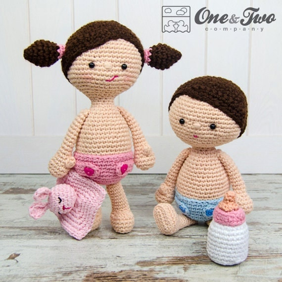 Little Me Playset - PDF Crochet Pattern - Instant Download ...