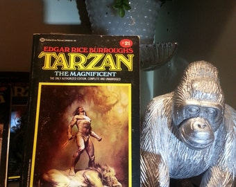 Tarzan the Magnificent #21 -Edgar Rice Burroughs - 1984