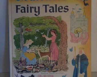 1955 Grimms Fairy Tales retold by Rose Dobbs